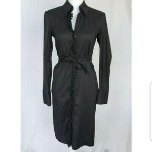 Trina Turk Black Shirt Dress US 2